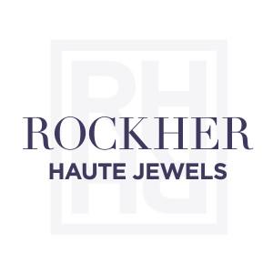 Round Diamond Halo Engagement Ring Ribbon Twist Platinum Shank RockHer