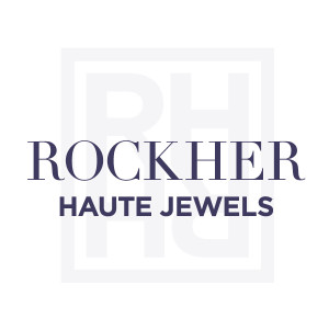 rockher ring with pear and round in rose gold stones rings side diamond three shape center engagement stone