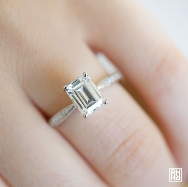 Tips for Buying an Emerald Cut Engagement Ring