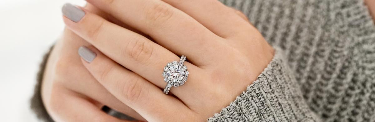 Old Diamonds, New Ring: Reusing Family Diamonds in a New Engagement Ring |  RockHer Blog