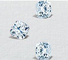 RockHer Exclusive Cushion Brilliant Cut Diamond